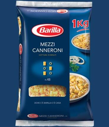 Vai alle ricette con Mezzi Canneroni