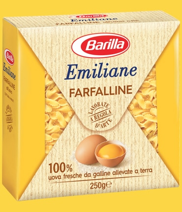 Vai alle ricette con Farfalline all'uovo