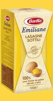 Vai alle ricette con Lasagne Sottili all'uovo