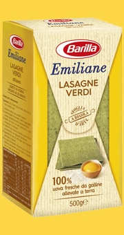 Vai alle ricette con Lasagne Verdi all'uovo
