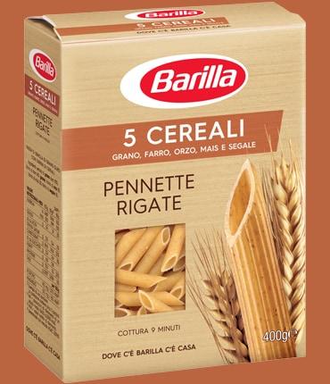 Vai alle ricette con Pennette rigate 5 cereali