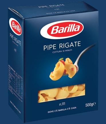 Vai alle ricette con Pipe Rigate