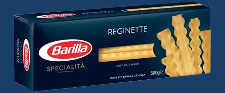 Ricette con le reginette le ricette di giallozafferano for Da dove proviene il grano della barilla