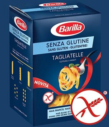 Vai alle ricette con Tagliatelle Senza Glutine