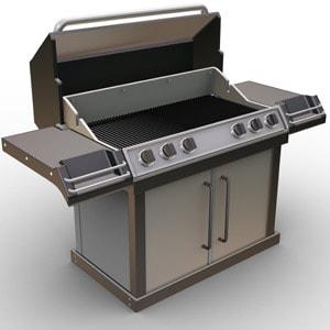 Barbecue americani a gas