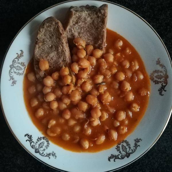 Ricetta zuppa di ceci la ricetta di giallozafferano for Cucinare i ceci