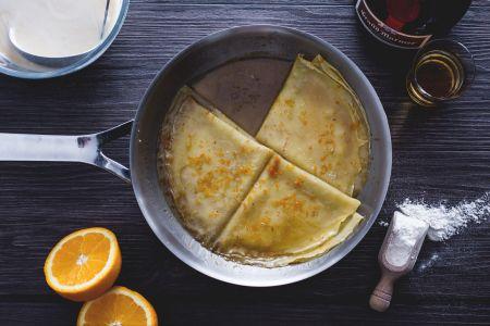 Crepes suzette ricetta facile