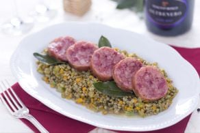 Ricetta Cotechino con lenticchie