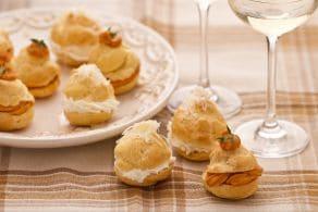 Ricetta Bignè di granchio e formaggio