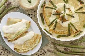Ricetta Crepes alla crema di asparagi