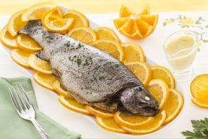 Ricetta Trota salmonata all'arancia