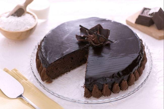 I commenti della ricetta torta golosa al cacao la - Decorazioni torte con glassa ...