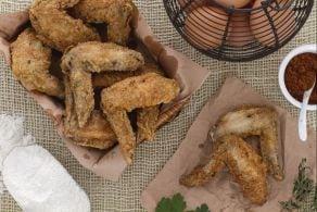 Ricetta Ali di pollo fritte