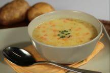 Crema di patate con verdure