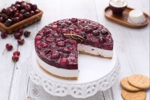 Ricetta Cheesecake alle ciliegie