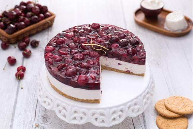 Risultati immagini per torta cheesecake compleanno