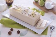 Bavarese al cocco e lime