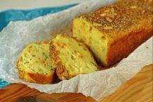 Plumcake con verdure e edamer