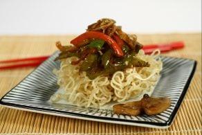 Ricetta Noodles fritti alle verdure