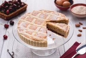 Crostata al farro e ciliegie