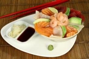 Ricetta Cirashi Sushi