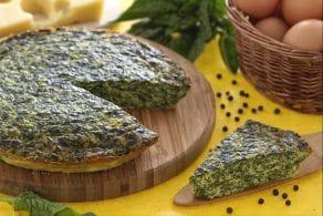 Ricetta Frittata al forno con ricotta e spinaci