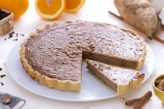 ricetta torta di patate dolci la ricetta di giallozafferano