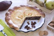 Ricetta Pie di pere,amaretti e cioccolato