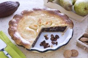 Pie di pere,amaretti e cioccolato