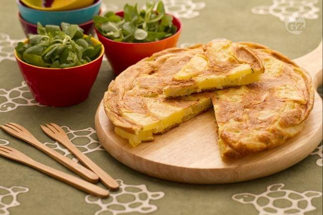 Ricetta frittata di patate la ricetta di giallozafferano for Ricette secondo