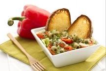 Insalata di sedano e peperoni