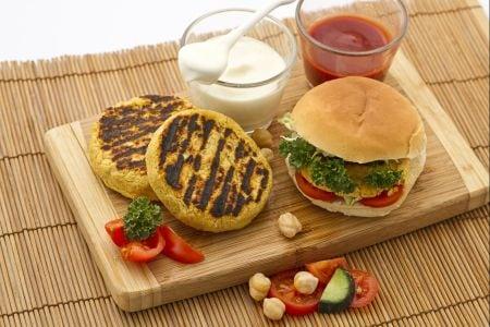Hamburger di ceci
