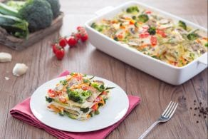 Ricetta Lasagne vegetariane