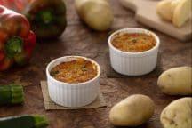 Tortini di verdure e formaggio
