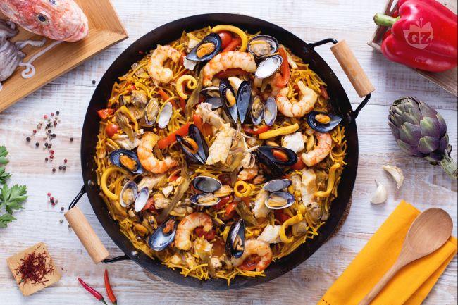 Ricetta fideu la ricetta di giallozafferano for Ricette spagnole