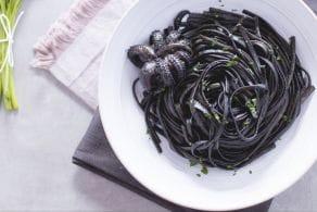 Ricetta Linguine al nero di seppia