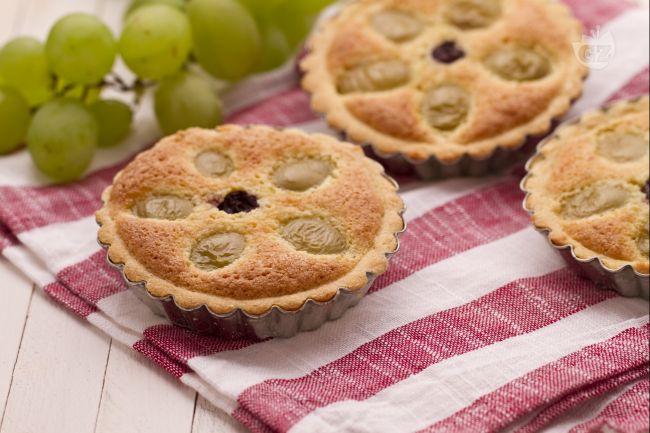 Crostatine all'uva