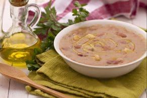 Ricetta Zuppa di patate e borlotti