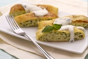 Ricetta Rotolo di crespelle con zucchine