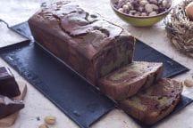 Plumcake al pistacchio variegato al cioccolato