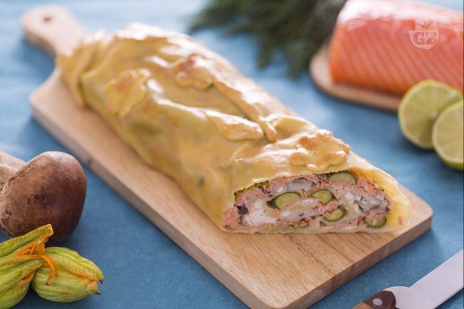Ricette con salmone fresco e pasta sfoglia