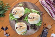 Mummie hamburger