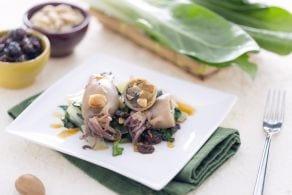 Ricetta Calamari ripieni di bieta, uvetta e mandorle