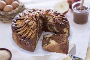 Ricetta Torta di mele e Nutella