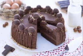 Ricetta Torta morbida al cacao con ganache al cioccolato