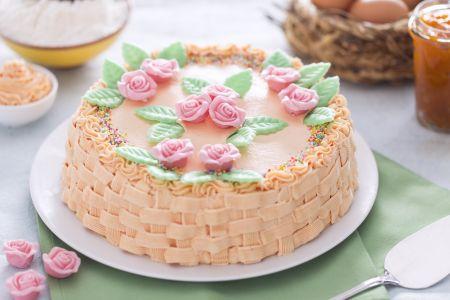 Ricetta torta cestino la ricetta di giallozafferano for Decorazioni torte per 60 anni di matrimonio