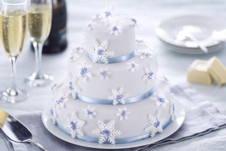 Torta fiocco di neve