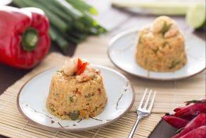 Ricetta Riso saltato con gamberi e anacardi