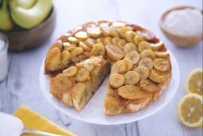 Ricetta Torta rovesciata alle banane