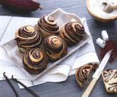 Brioches variegate al cacao